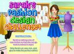 莎拉的時裝設計比賽