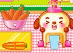 吐司狗榨胡蘿蔔汁
