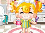 幫妮妮刷牙