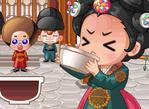 章魚弟伺候公主喝湯藥