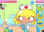 護士小姐也偷懶