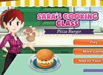 莎拉的起司漢堡
