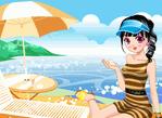 沙灘泳裝秀